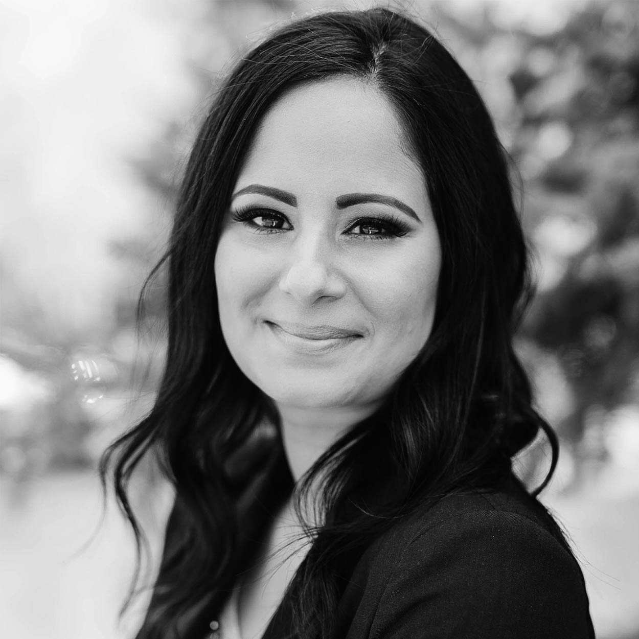 black and white image of rena, sexual abuse survivor
