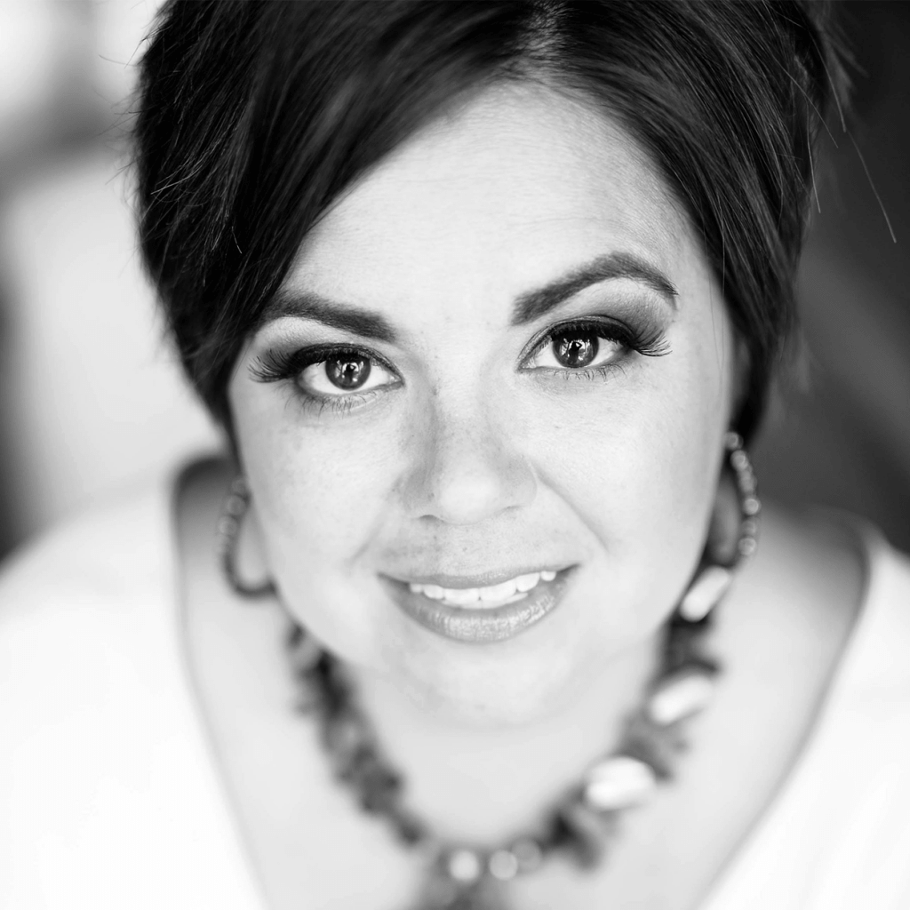 black and white image of Stephanie, a survivor of sexual abuse